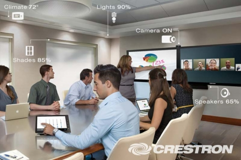 Crestron Modern Meeting Rooms