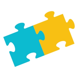jigsaw puzzle pieces fitting together